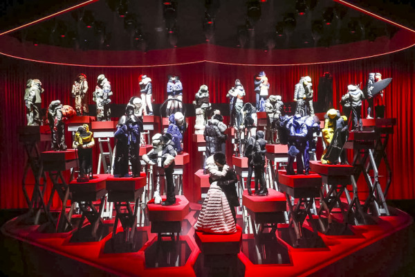 Moncler Grenoble Fashion Show - New York Fashion Week Fall Winter Collection 2015